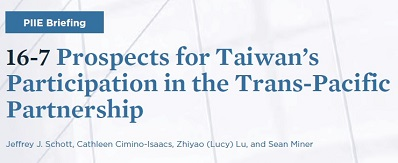 Prospects for Taiwan's Participation in the Trans-Pacific Partnership